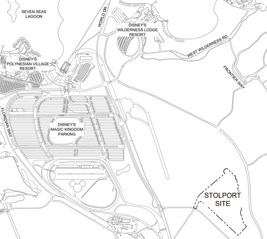 Walt Disney World's STOL Port: The Abandoned Airport On